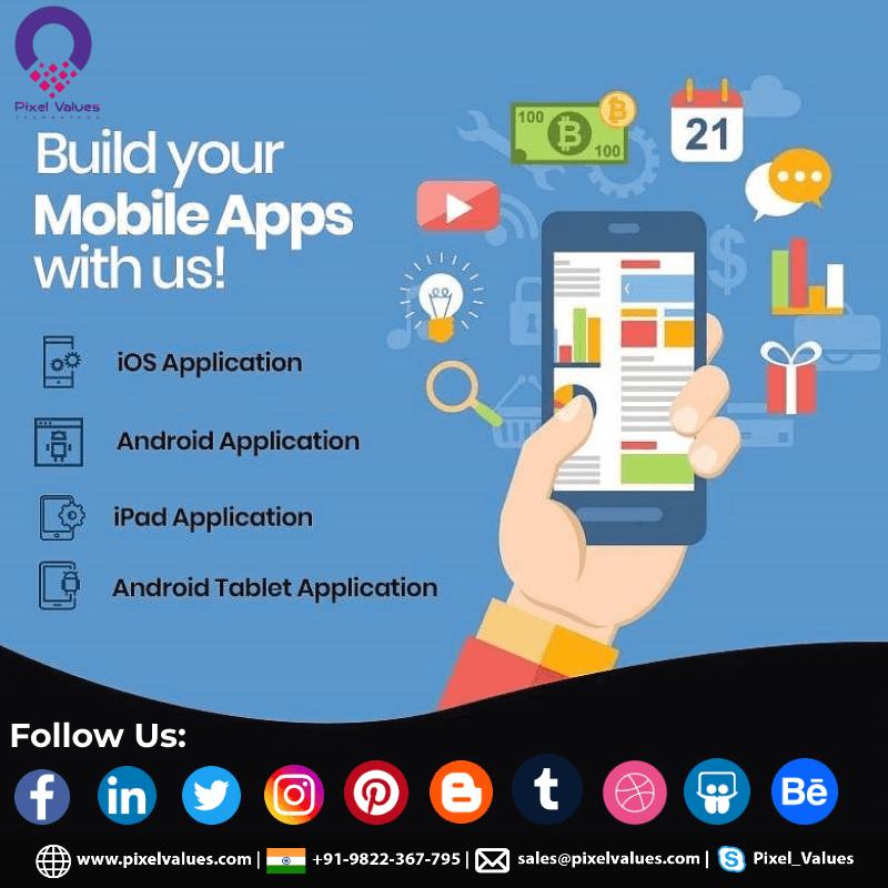Pixel Values Technolabs- Smart & Robust Mobile App, Web Development Company