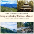 Shimla and Manali tour packages at an exciting offer